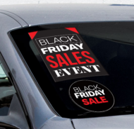 Black Friday Hang Tag Stickers
