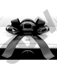 Black Friday Car Bow Magnetic
