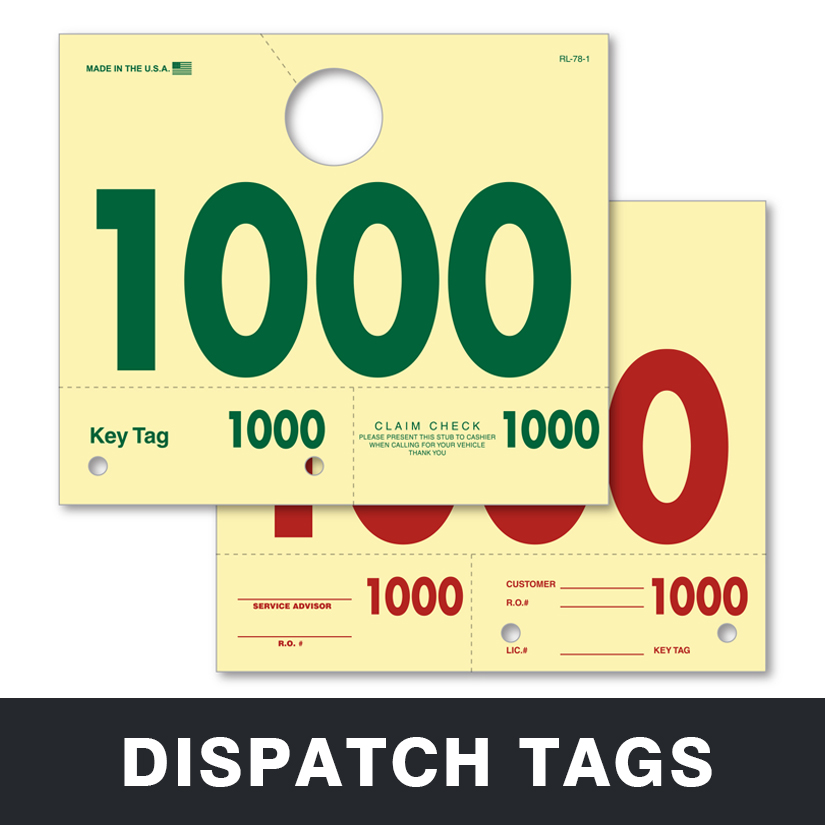 Dispatch Tags